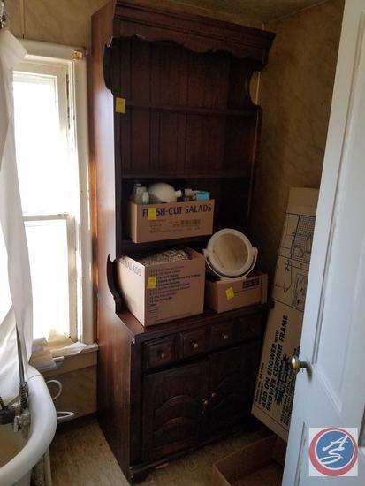 """Thomasville Wooden Cabinet 30""""X 19.75""""X 79.5"""""""