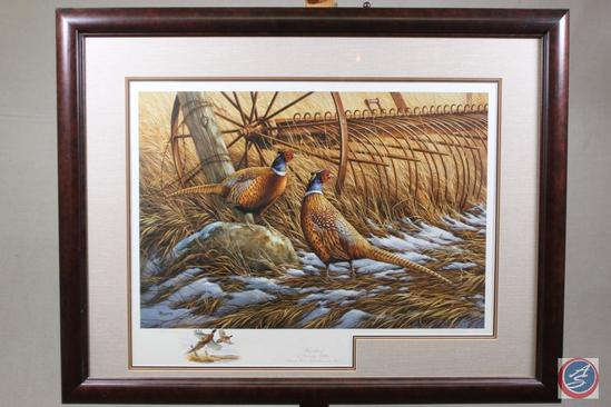 """Heartland"" by Rosemary Miller, Pheasants Forever Fifth Anniversary, Compliments Lot 101"