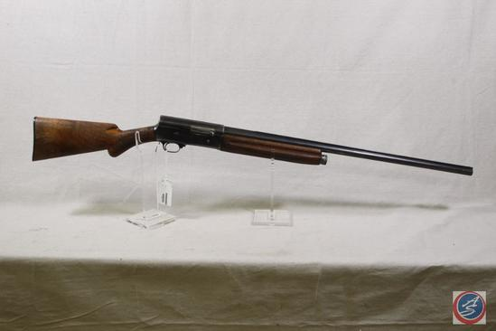 Browning Model A-5 12 GA Shotgun This Belgium Browning is a pre-1939 mfg marked Full 12 Special