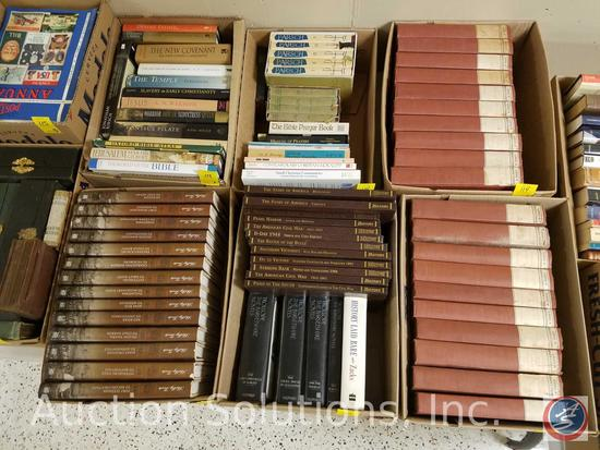 Vintage Library of World's Classics Series Including: Letters to His Son and Classical