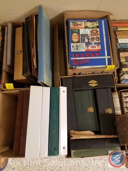 Antique Postcard Albums (Empty), Vintage Boxes (Empty), 'Postcard Collector' Magazines, The Standard