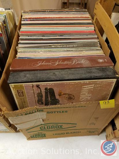 Vintage Records including: My Fair Lady, Kismet Alfred Drake, Hello Dolly, and more