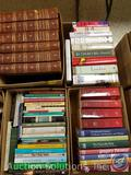 Vintage Books Including: Great Men and Famous Women and Character Sketches, Jesus and the Eucharist,