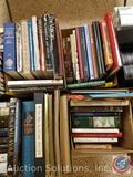 Books including titles such as: The Civil War, Passion Play 2010, Medieval Panorama, Art Treasures