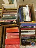 Books Including titles such as: Babylon, Belgrade, Eros in Pompeii, Kings + Queens, Assorted Books