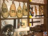 Egyptian Figurines, Assorted Cups and Mugs and New Nesting Pockets