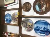 Assorted Collectible Plates Including Plate Marked Kaiser 1970 Limited Edition Passionsspiele?and