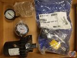 Pentair Air Flow Assembly, Watkins Spa Circulation Pump Part #74416, PSI Gauges