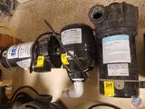 Waterway Premium Blue Swimming Pool Pump (Model DISPLAY) and Max Air Blower 1 HP 240 Volt and Stark