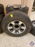 (4) Continental Contitrac TR Tubeless Radial LT275/70R18 125/122 with Ford Rims