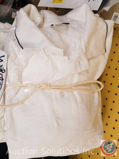 (10) King Louie White Golf Shirt Assorted Sizes