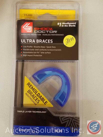 (8) Ultra Shock Braces Adult Sizes