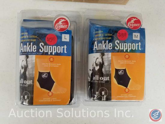 (2) M and (3) L Ankle Supports