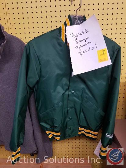 Delong Green Jacket Youth Size L
