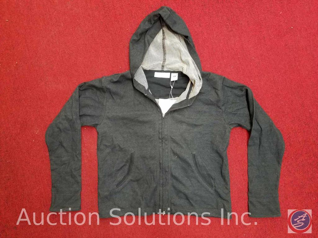 Girl's Hooded Jackets Assorted Sizes in Navy and Black