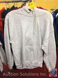 (4) Adult Hoodies in Assorted Colors and Sizes