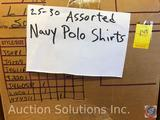 Polo Shirt in Assorted Sizes Approx. 25-30