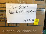 Polo Shirts in Assorted Sizes Approx. 25-30
