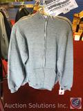 (4) Gray Zip Up Adult Hoodies