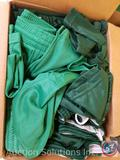 (16) Augusta Brand Green Drawstring Shorts in Assorted Sizes