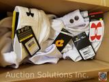 (7) Youth White Baseball Pants Assorted Sizes