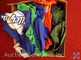 (28) Volleyball Printed T-Shirts in Assorted Colors and Sizes