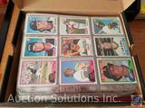 Collectible Topps Sports Trading Cards - some in Protective Sleeves [[ALL IN SHOE BOX]]