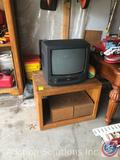 Sharp TV with Built in VHS 13