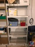 Rubbermaid 5 Tier Shelving Unit Measuring 35