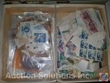 Stamp Collection of Assorted Post Marked Stamps