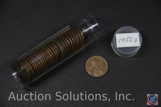 (29) 195 U.S. D Wheat Pennies