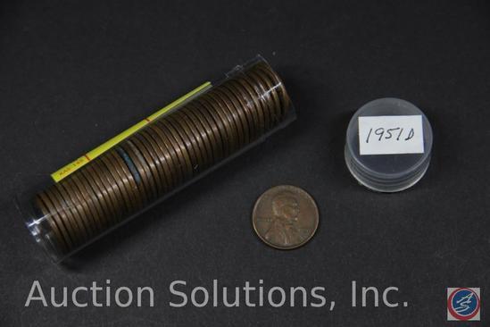 (45) 1951 U.S. D Wheat Pennies