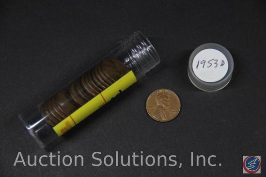 (15) 1953 U.S. D Wheat Pennies