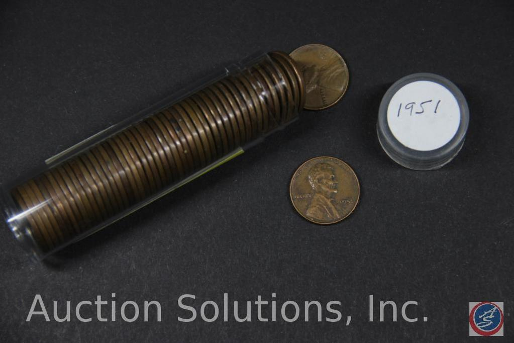 (49) 1951 U.S. Wheat Pennies