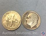 (5) 1956 U.S. Dimes