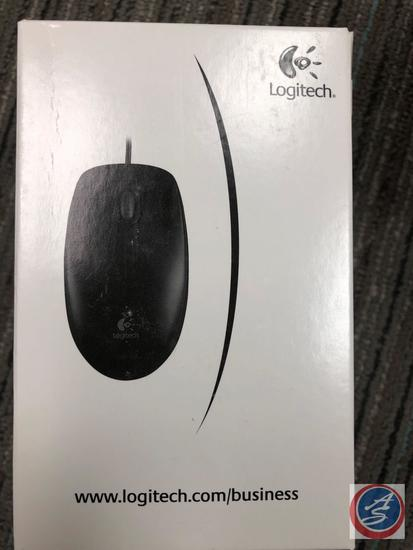 (4) Logitech Wired Mouse New In Box (located on top)