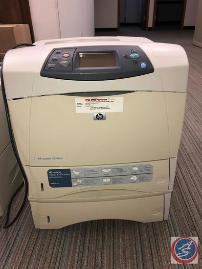 HP LaserJet 4250dtn (located on top)