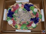Fitz and Floyd Countryside Fruit Oval Serving Bowl {{In Original Box}}