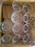 (22) Cut Glass Goblets