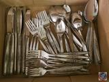 (12) Stainless Steel Japan Table Spoons, (9) Stainless Steel Japan Dinner Forks, (12) Stainless