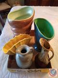 McCoy USA Pottery, Red Wing USA Pottery, Dalton USA Pottery, Frankoma 831 Pottery, Red Wing USA 652