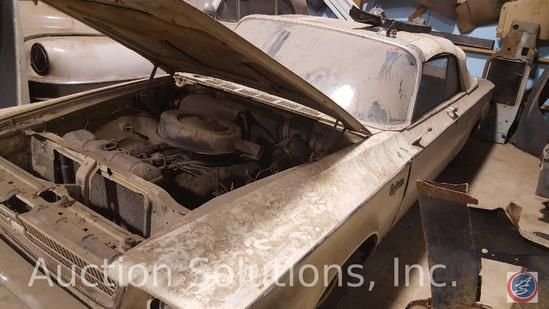 1963 Chrysler Newport 2-door Convertible. This great project car has a ton of potential. The