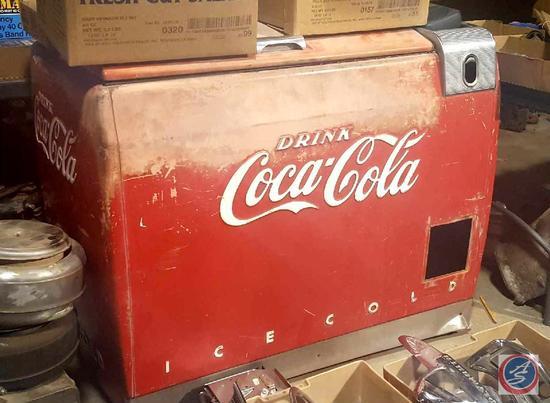 Vintage Coca~Cola Model WE6 Bottle Merchandiser Cooler