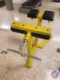 Roman Chair / Back Hyperextension Bench - Physical Fitness Gym Equipment