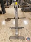 Precor 6-Arm Vertical Weight Plate Tree - Physical Fitness Gym Equipment (Model BMEMA25100043)