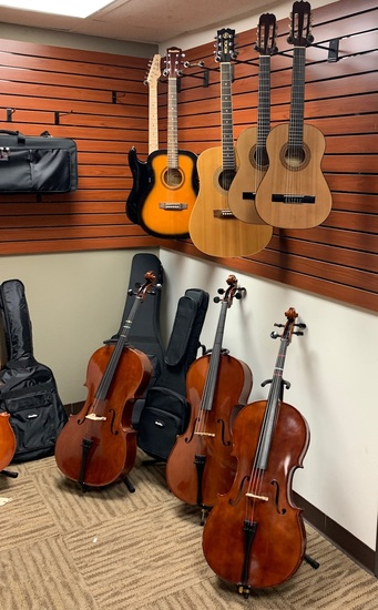 NEW MUSICAL INSTRUMENTS INVENTORY BUSINESS BLOWOUT