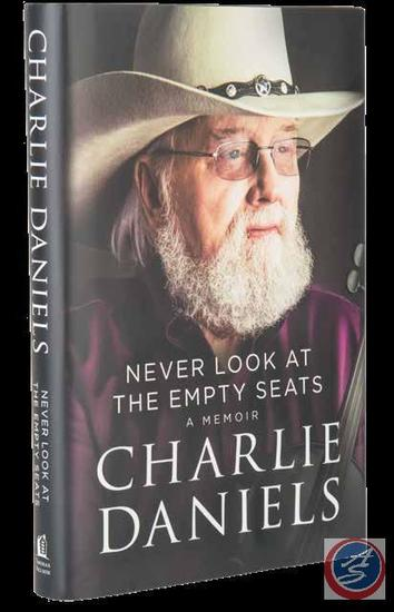 Charlie Daniels Signed Book and CD