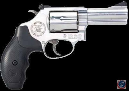 S&W Model 60 .357 Mag Revolver with NRA Seal
