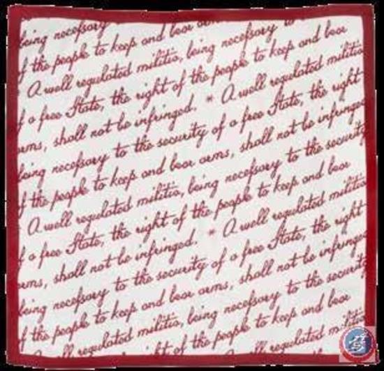 Second Amendment NRA Throw Blanket