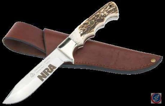 Puma Fixed Blade Knife w/ NRA Logo